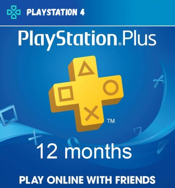 Playstation Plus 12 months [PS PLUS]  (PS4)