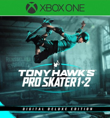 Tony Hawk's™ Pro Skater™ 1 + 2 - Digital Deluxe Edition (XBOX ONE)
