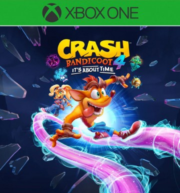 CRASH BANDICOOT 4: ITS ABOUT TIME (XB1)