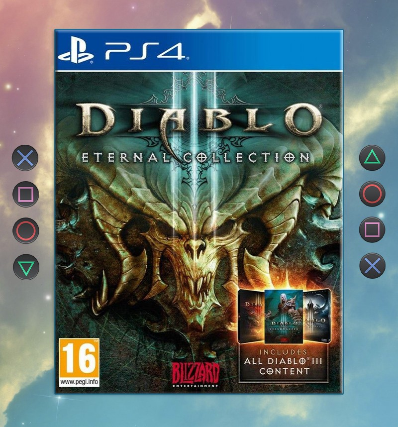 Diablo III: Eternal Collection (PS4) - psnmagazine com